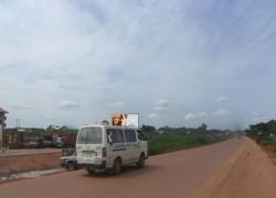 48 sheet Along Enugu Porthacourt Expressway by Gariki Flyover FTT Enugu