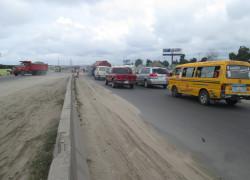 Unipole Along badagry expressway by tradefair ftt badagry