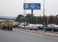 Unipole at Apapa oshodi expressway by resettlement cent ftt oshodi